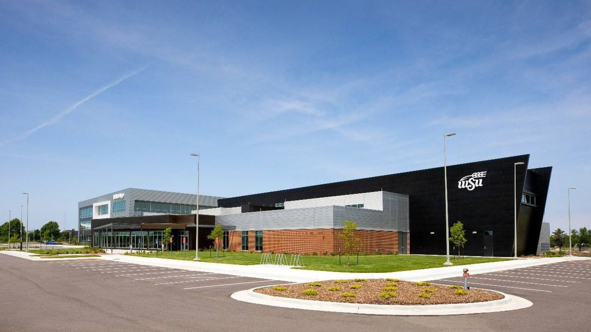 The Jerry Moran Center is a 20,000-square-foot facility on WSU's Innovation Campus.