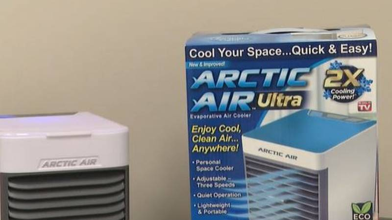 The Arctic Air Ultra-Portable Evaporative Air Cooler is essentially the summertime version of a...