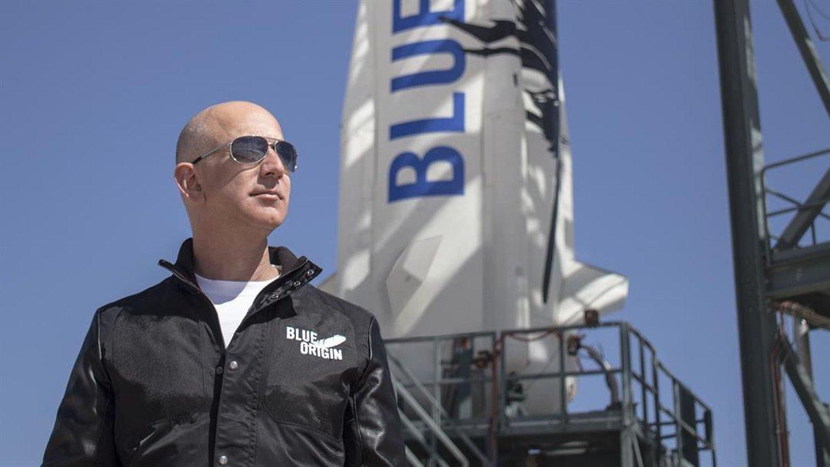 Jeff Bezos, Blue Origin founder (Source: Blue Origin)