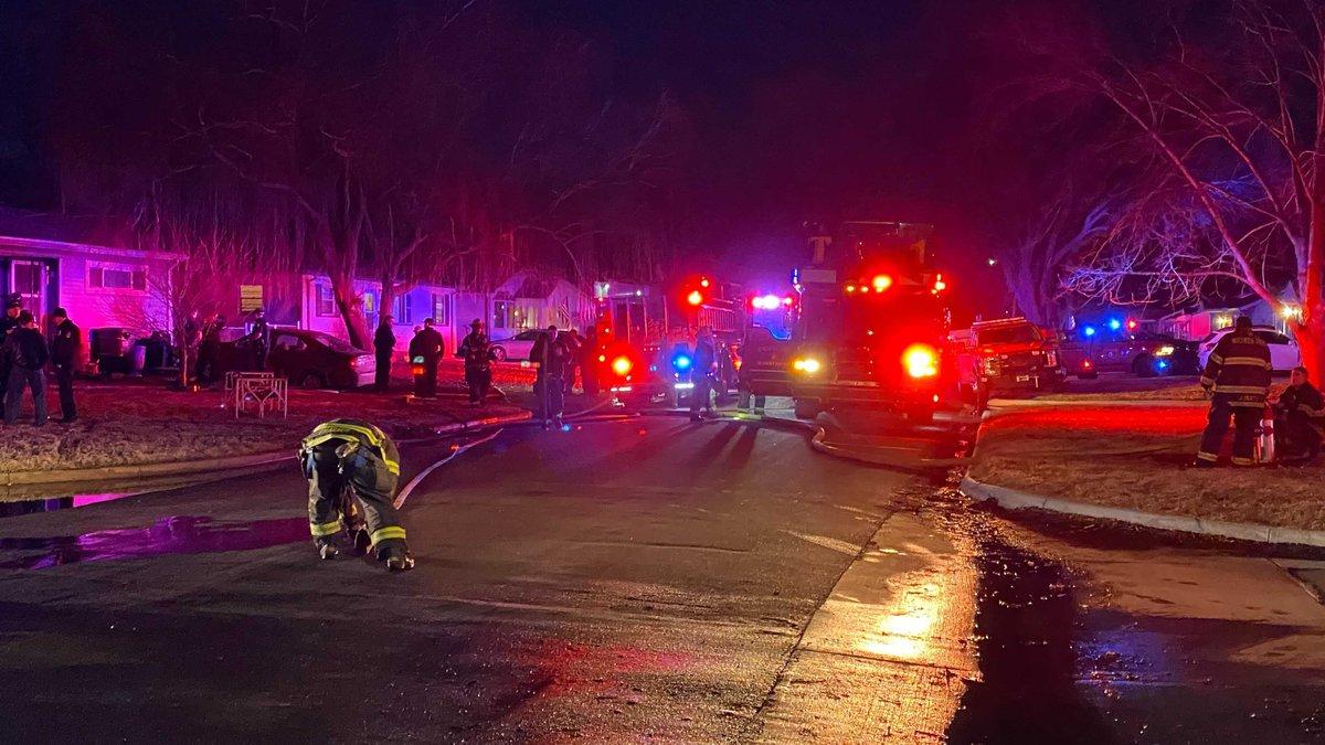 Wichita house fire puts man in hospital