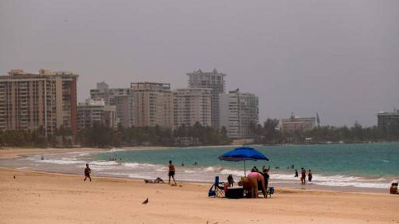 A Saharan dust storm from across the Atlantic darkened the skies of Puerto Rico this week....