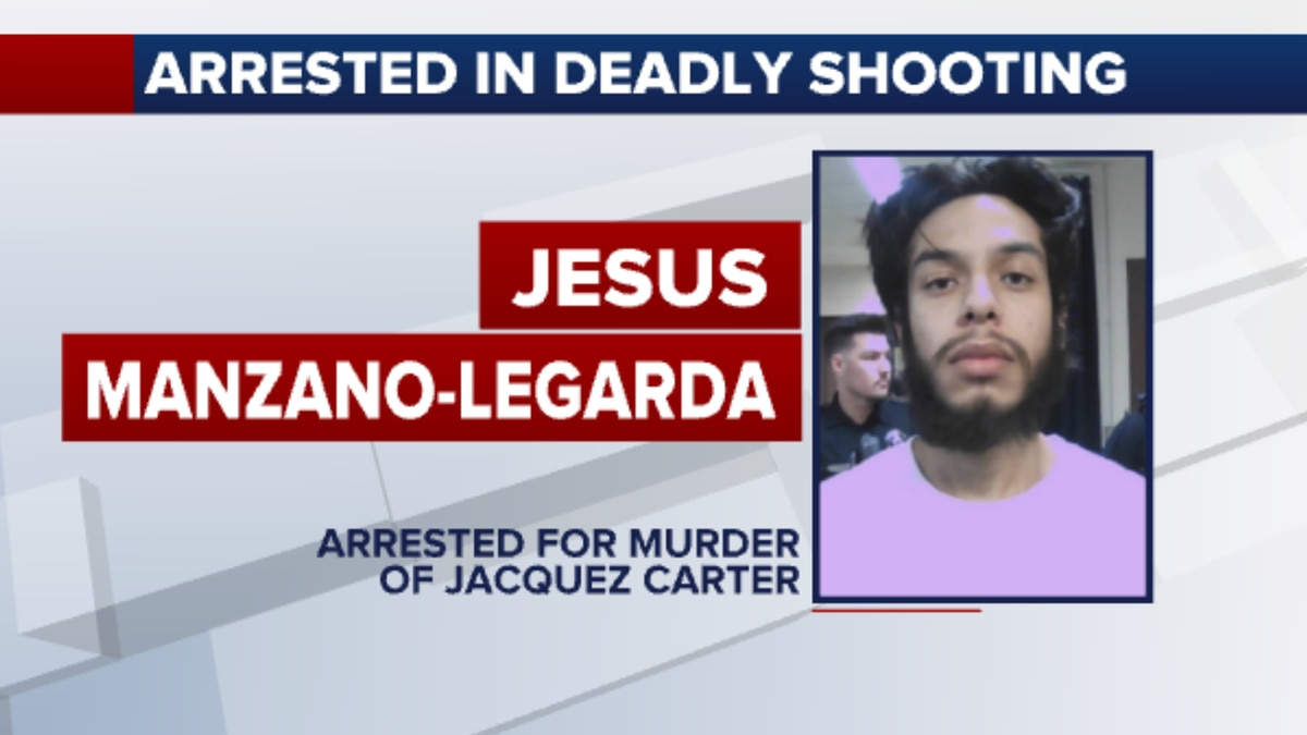 Police arrested Jesus Manzano-Legarda for first-degree murder in connection to the shooting at...