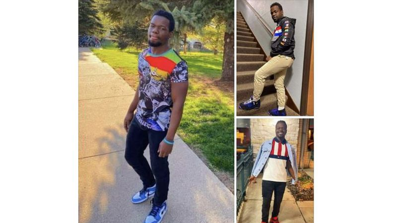 A 26-year-old man from Wichita is reported missing from his home near Minneapolis, Minn.