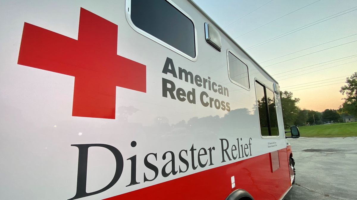 American Red Cross Disaster Relief Vehicle.