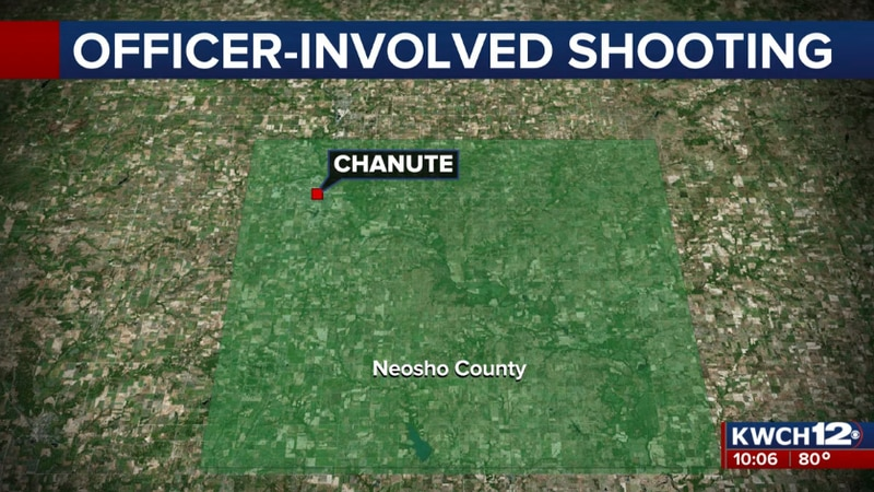 The KBI continues to investigate an OIS in Chanute, KS