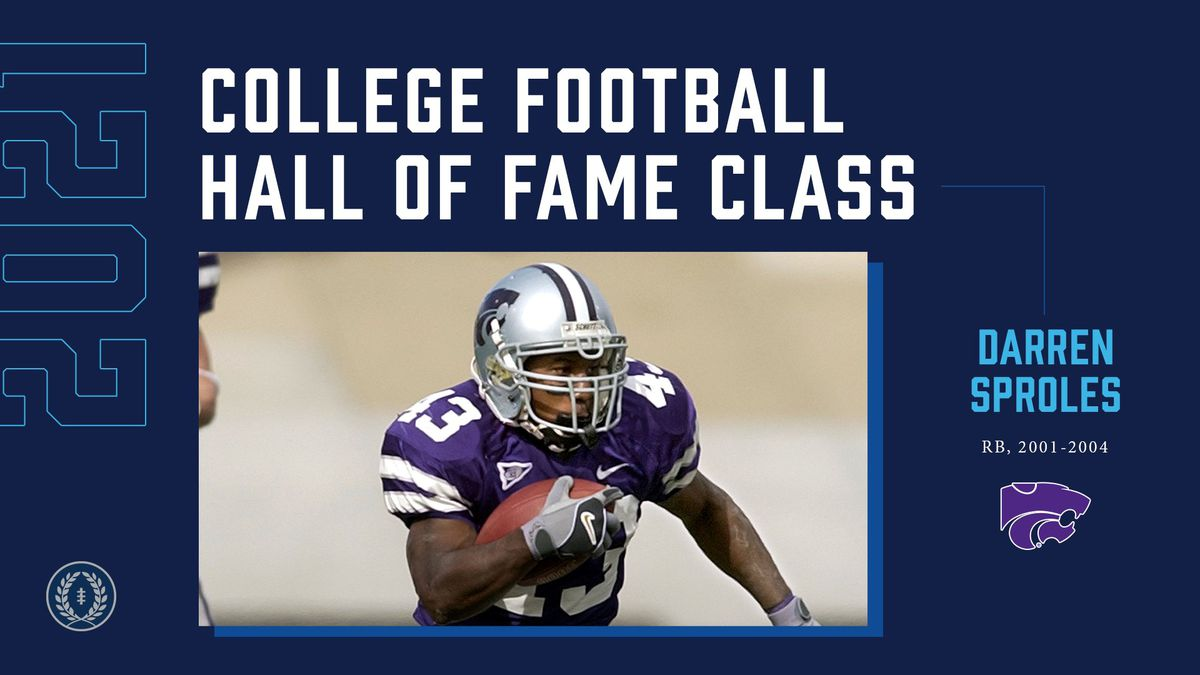 Kansas State legendary athlete Darren Sproles has one final run to make, this time in...