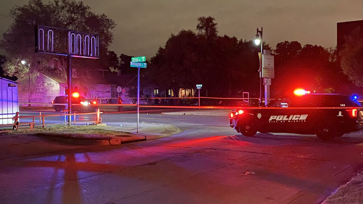 One person was taken by ambulance to a Wichita hospital after being hit by a vehicle Monday...