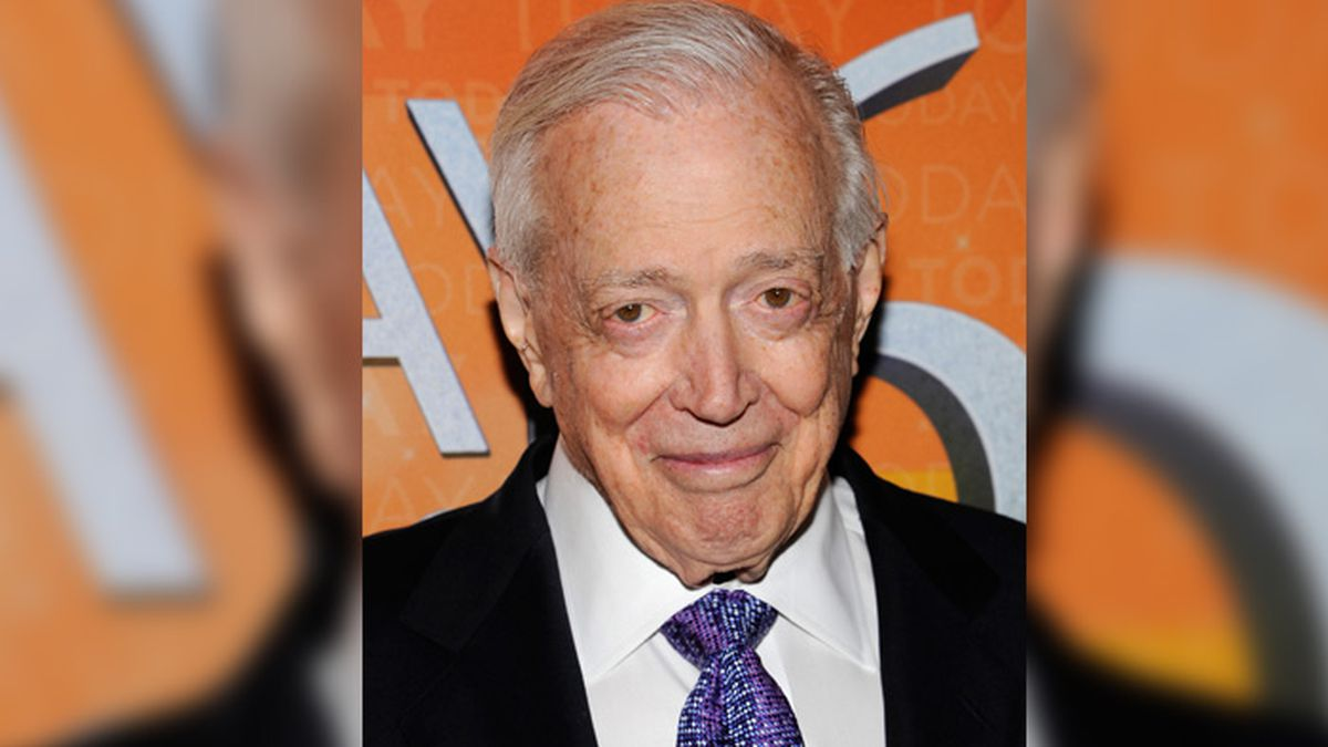 "Hugh Downs attends the ""Today"" show 60th anniversary celebration at the Edison Ballroom on..."