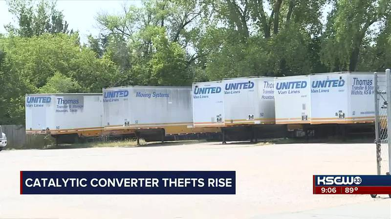 Catalytic converters stolen from SE Wichita businesses