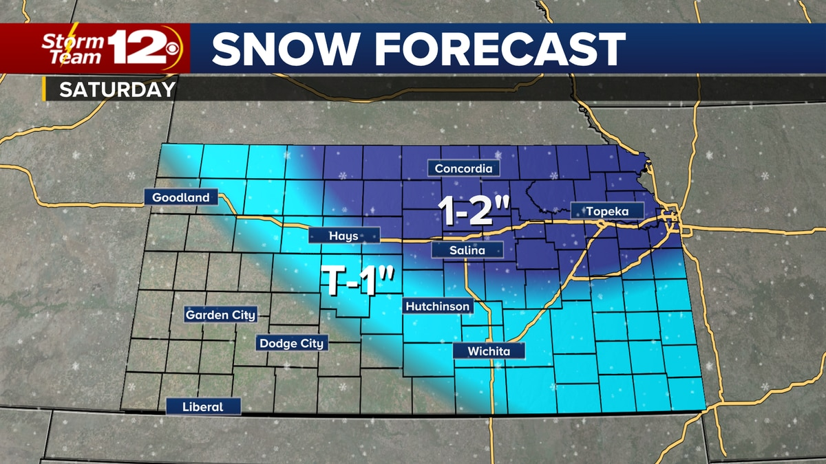 Winter weather returns for the weekend