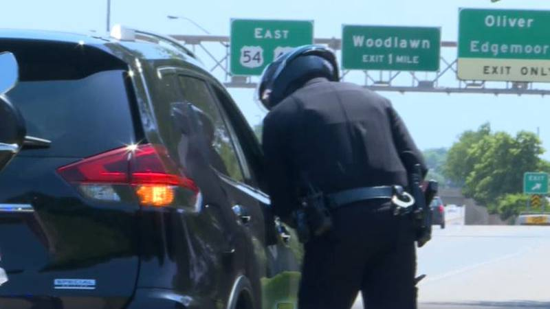 Wichita police are upping patrol efforts on Kellogg in hopes of cutting down on crashes.