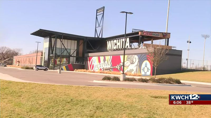 Riverfront Stadium in downtown Wichita