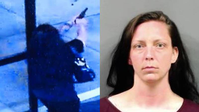 Wichita police arrested 31-year-old Danielle Robinson of Salina on Tuesday. She is the suspect...