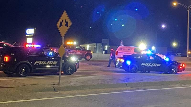 Car crash near Kellogg and Tyler