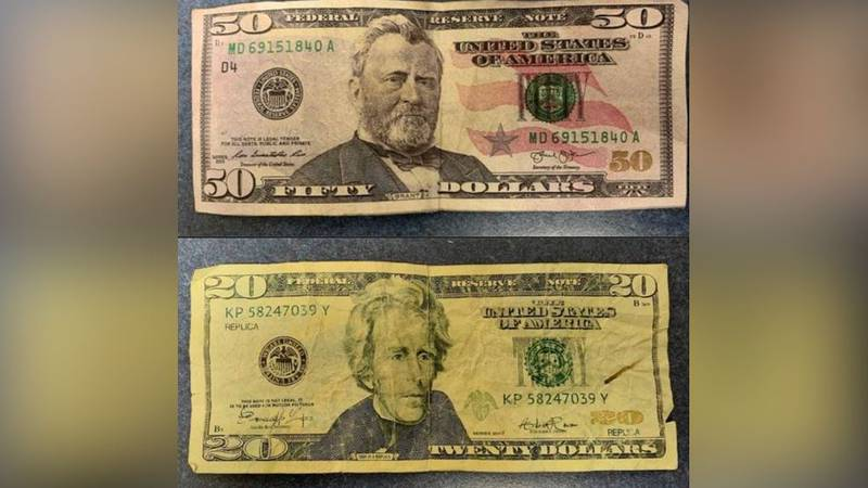 The Garden City Police Department is warning the public about counterfeit bills that have been...