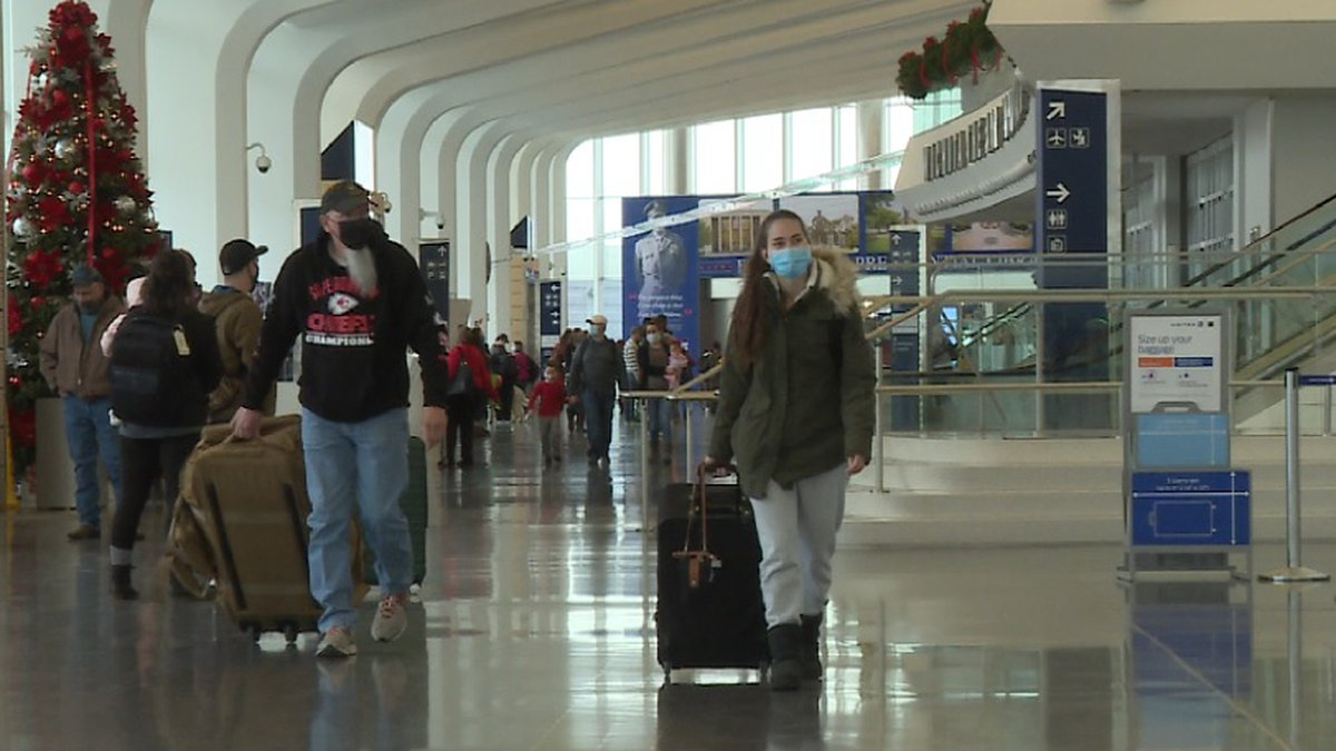 Christmas Eve 2020 at Wichita Dwight D. Eisenhower National Airport