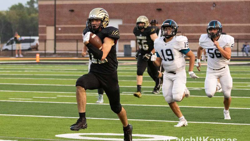 Andover Central topped Goddard-Eisenhower in a high scoring bout 45-31 Friday, September 18, 2020