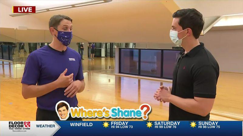 Where's Shane? Genesis Health Clubs