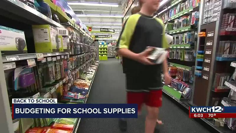 Budget tips for back-to-school shopping