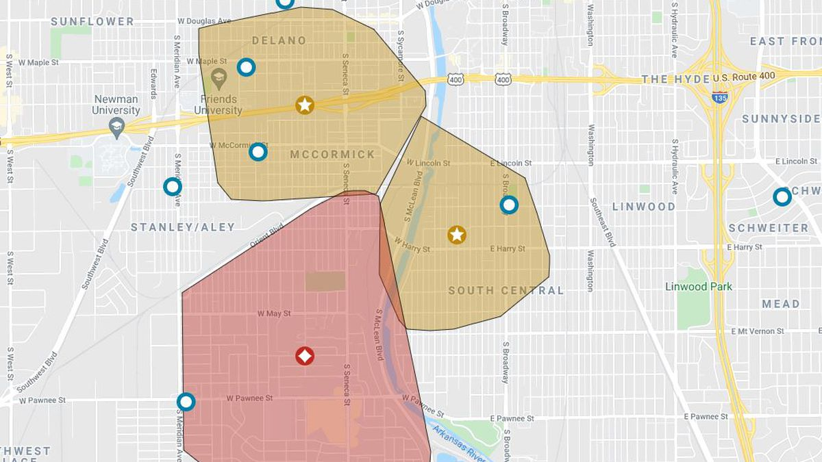 More than 7,000 people are without power in south and west Wichita, according to the Evergy...