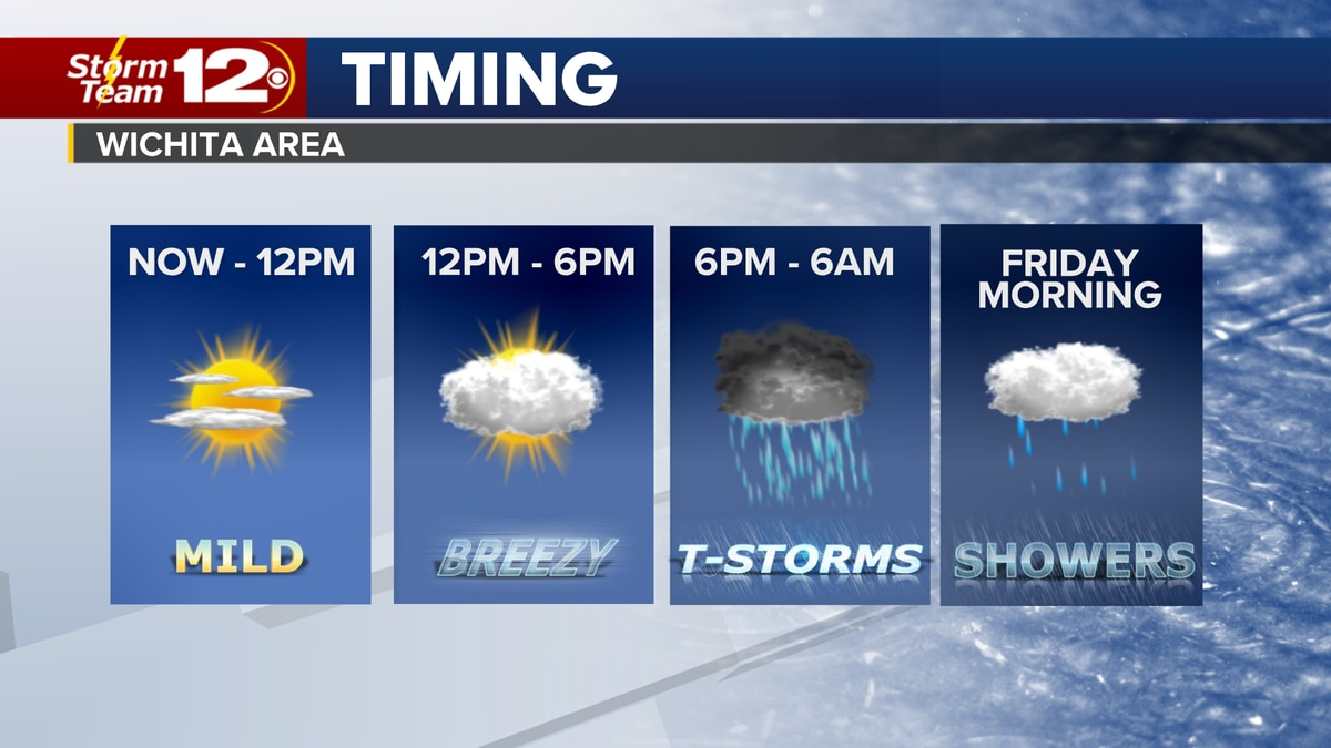 Meteorologist Jake Dunne says it is a quiet start to the day, but that will soon change as the...