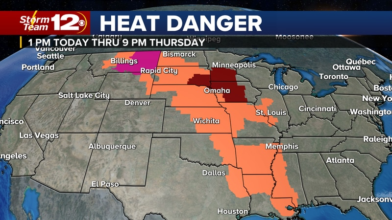 A dry forecast for the next few days will allow both temperatures and humidity to climb into...