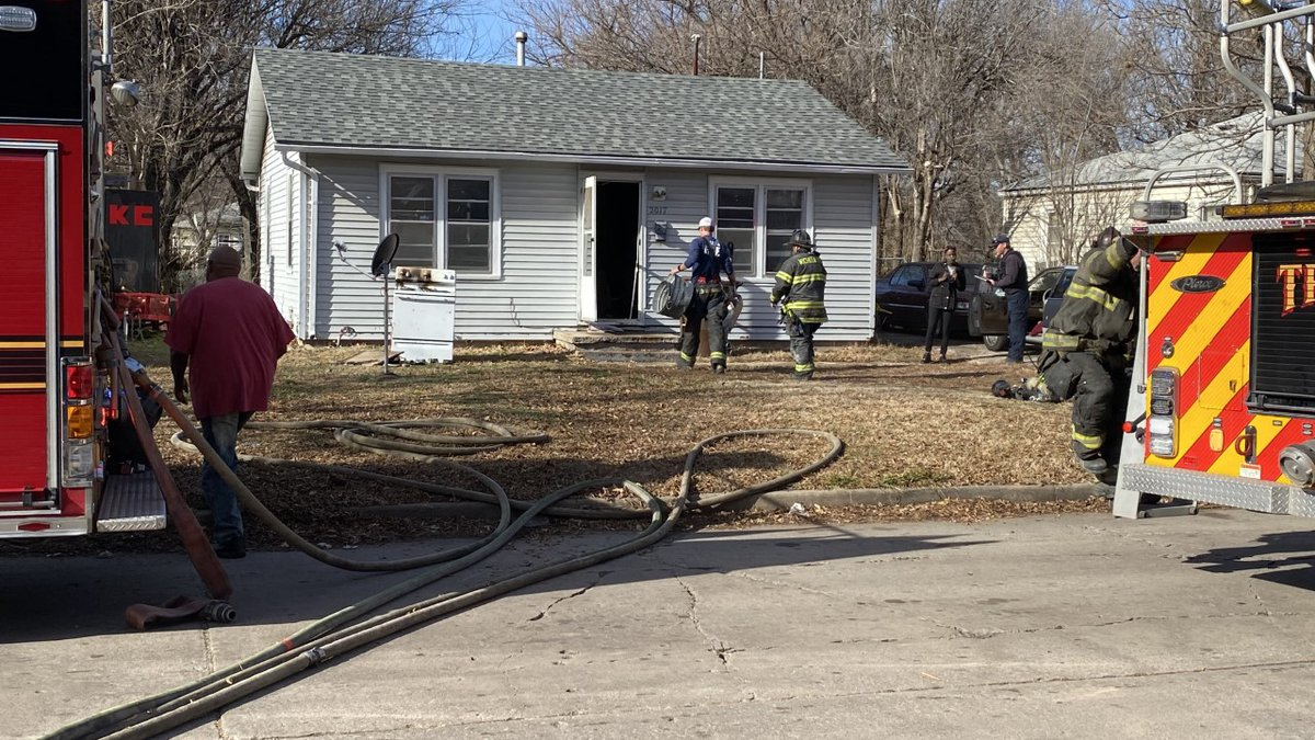 The Wichita Fire Department said there were no working smoke detectors in the home.