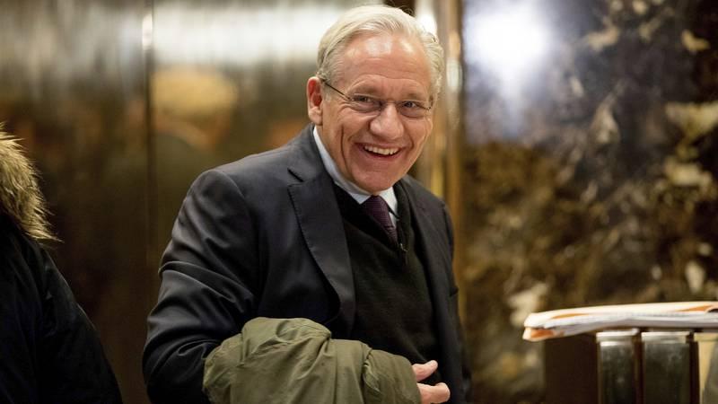 FILE - The Washington Post associate editor Bob Woodward arrives at Trump Tower in New York,...