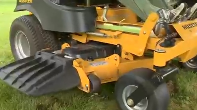 Lawnmower accidents and children