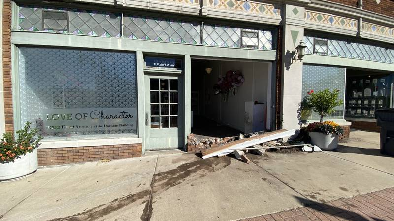 Mary Billings, the owner of Love of Character, said she has safety concerns after two vehicles...